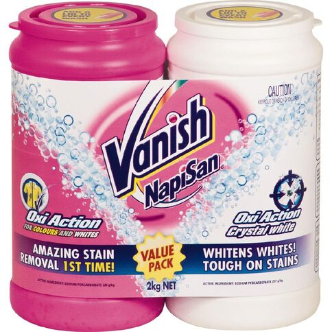 Vanish Napisan Value Pack 1Kg + 1Kg