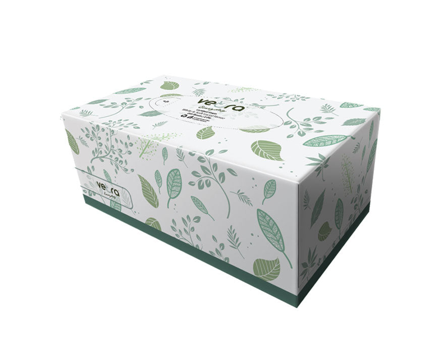 Veora Facial Tissue 2 Ply 200 Sheets