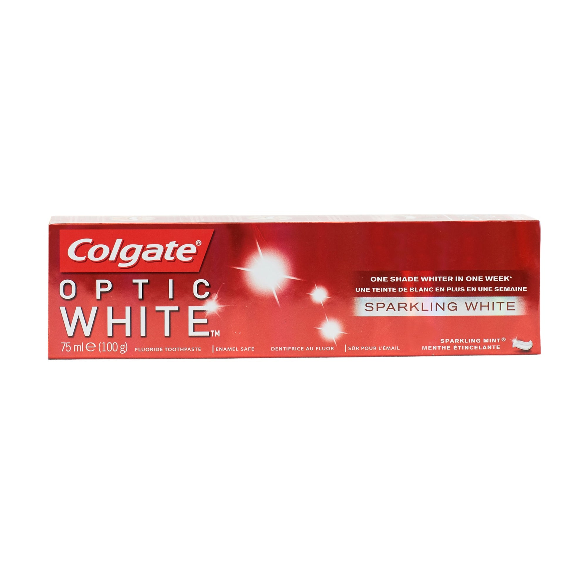Colgate Optic White Sparkling White Toothpaste 100G