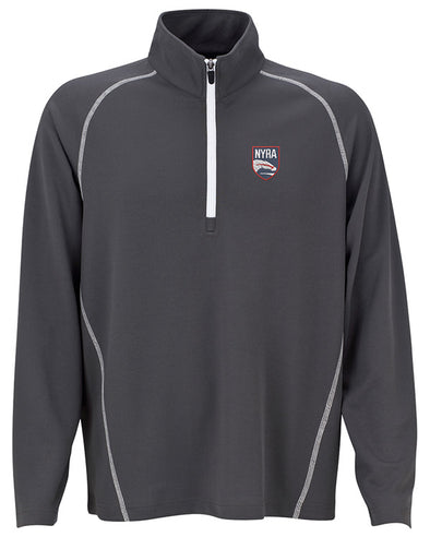 NYRA Lt Chest Logo 1/4-Zip Pullover