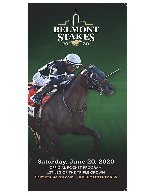 Belmont Stakes 152 Pocket Programs