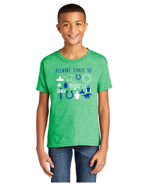 Belmont Stakes 152 Collage Youth T-Shirt