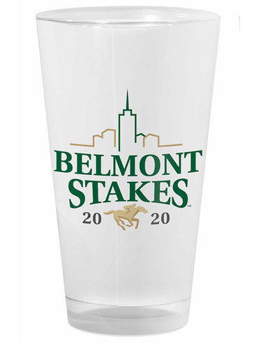 Belmont Stakes 152 Logo Frosted Pint Glass