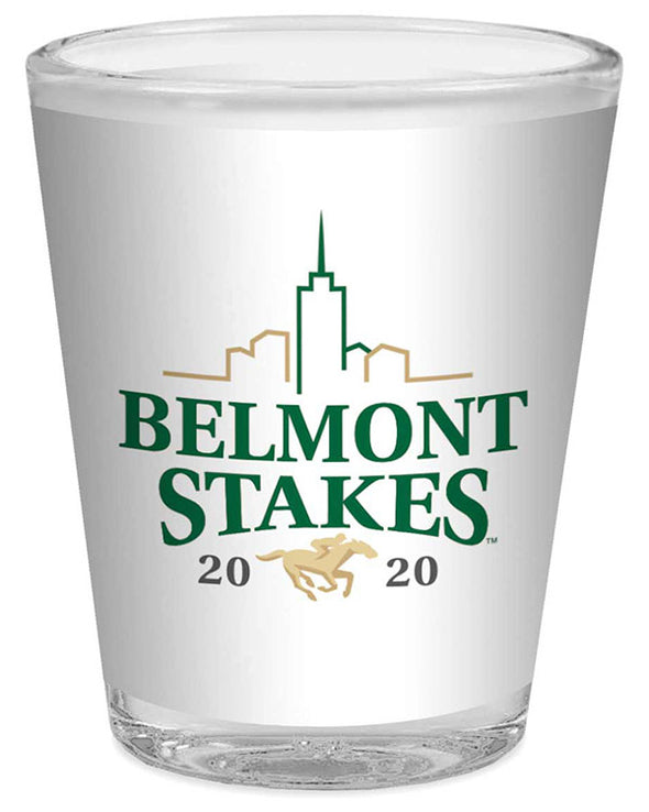 Belmont Stakes 152 Logofrosted Shot Glass