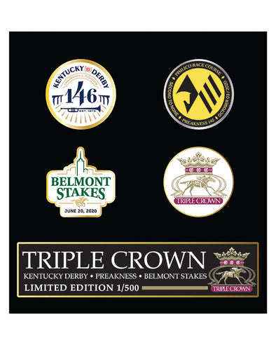 2020 Triple Crown Pin Set