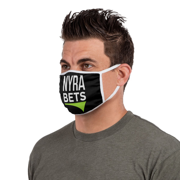 NYRA Bets Face Mask Covering