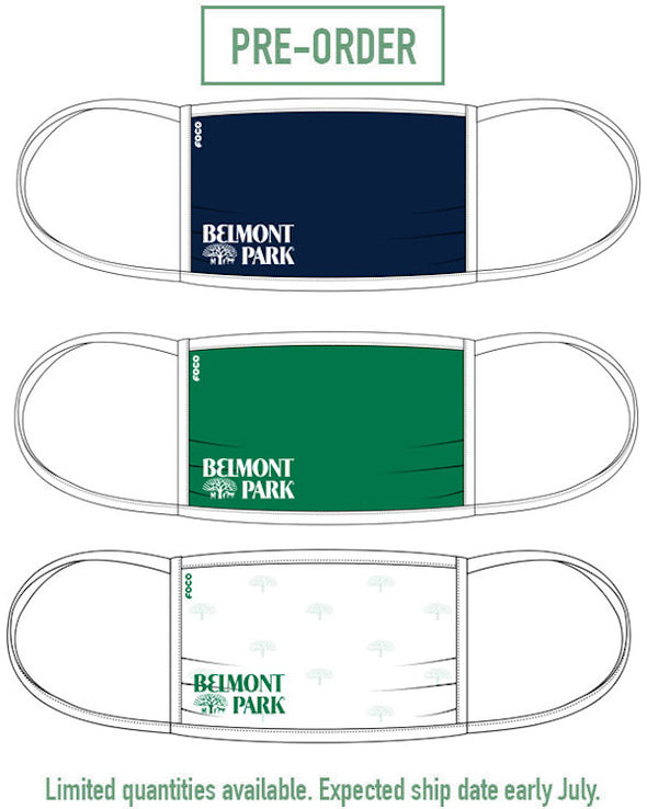 Belmont Park 3-Pack Fan Face Mask