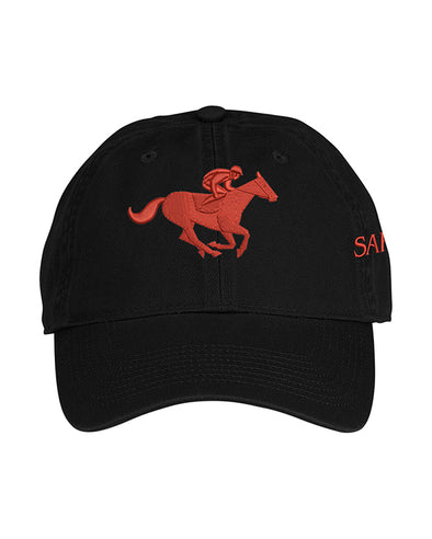 Saratoga Race Course Unstructured Twill Horse Hat