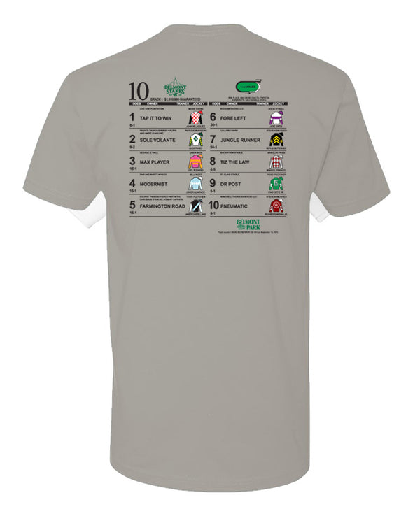 Belmont Stakes 152 Post Position T-Shirt