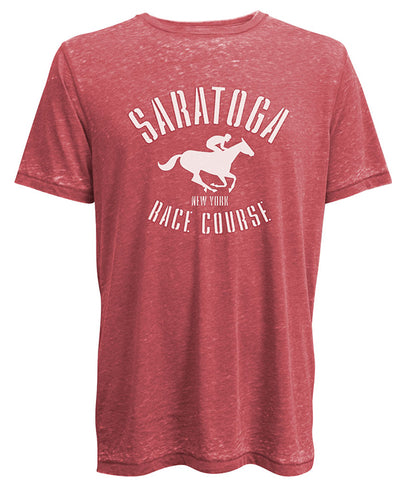 Saratoga Race Course Burnout T-Shirt