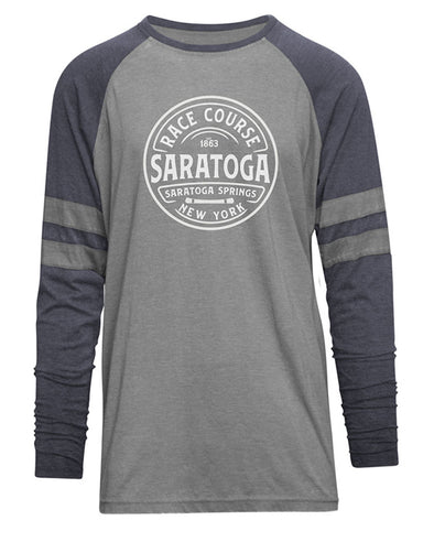Saratoga Race Course Burnout Long Sleeve T-Shirt