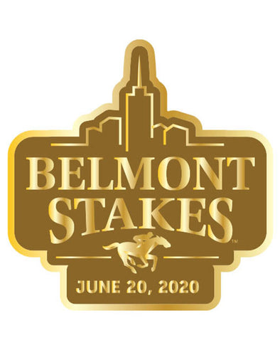 Belmont Stakes 152 Gold Lapel Pin