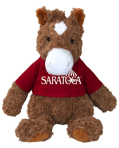 Saratoga Race Course Cuddle Horse Plush