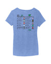 Belmont Stakes 152 Ladies Post Position V-Neck T-Shirt