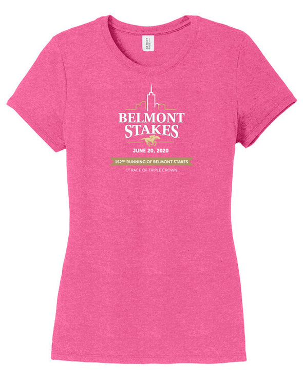 Belmont Stakes 152 Ladies History Happens T-Shirt