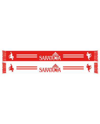 Saratoga Reversible HD Knit Scarf Red