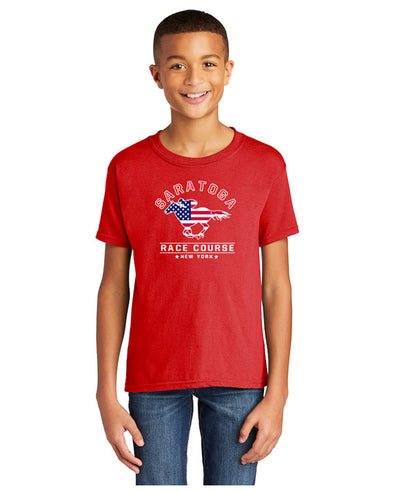 Saratoga Patriotic Youth T-Shirt