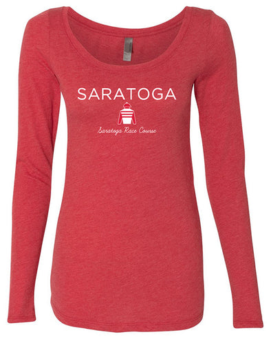 Saratoga Silks Ladies Slub Long Sleeve T-Shirt