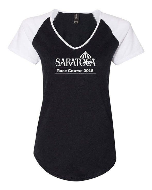 2018 Saratoga Women's Event Logo Triblend Tee