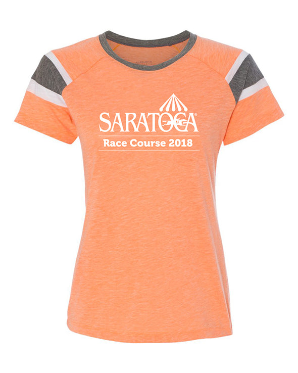 2018 Saratoga Women's Event Tee, Fitted Silhouette
