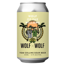Load image into Gallery viewer, Wolf x Wolf Tom Collins Sour Beer