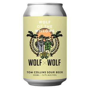 Wolf x Wolf Tom Collins Sour Beer