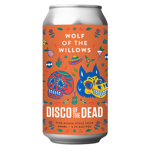 Disco of the Dead -  Pink Guava Atole Sour