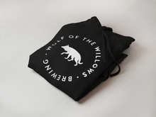 Load image into Gallery viewer, Black Wolf Hoodie