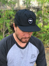 Load image into Gallery viewer, Wolf Surf Cap - Black