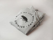 Load image into Gallery viewer, Grey Wolf Hoodie