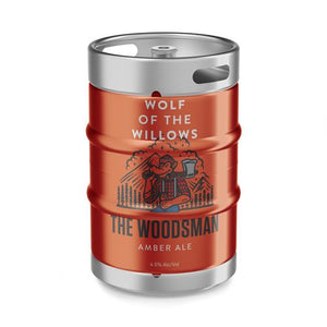 Kegs -  The Woodsman - Amber Ale-  30L, 50L and Cornie Kegs