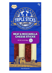 Meat & Mozzarella Cheese Sticks