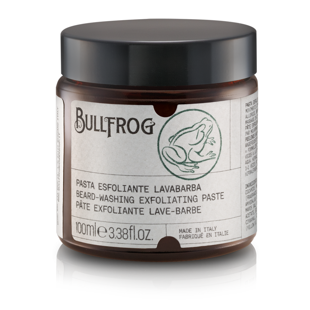 BULLFROG - Beard-Washing Exfoliating Paste 100ml