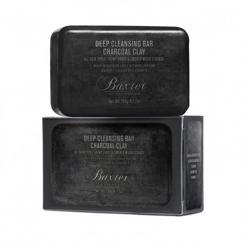 BAXTER OF CALIFORNIA - Deep Cleansing Bar Charcoal Clay 198G