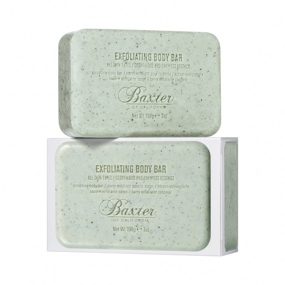 BAXTER OF CALIFORNIA - Exfoliating Body Bar / Peelingseife 198G