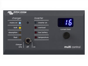Victron Energy Digital Multi Control 200/200A GX - System Panel