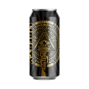 Liberty - Darkest Days Oatmeal Stout - 12 x 440ml Cans