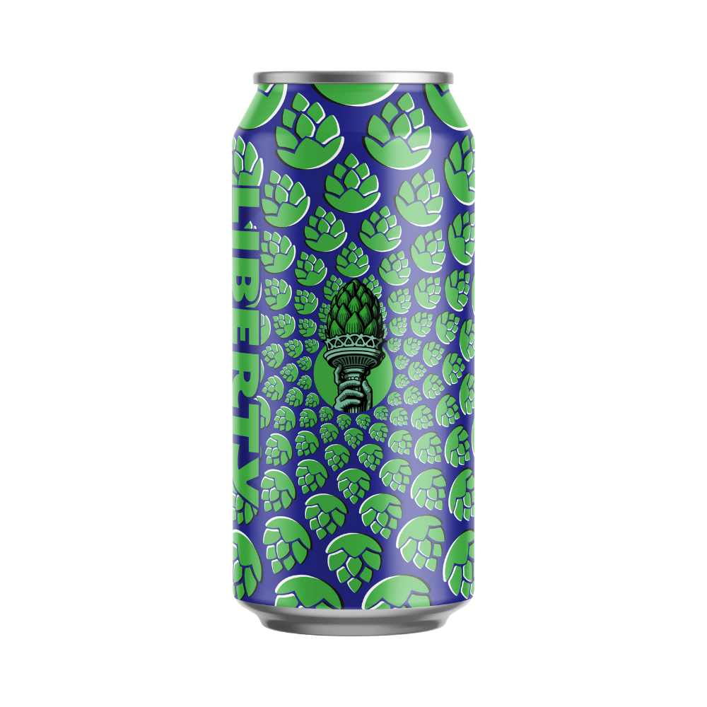 Liberty - Hoptical Illusion Double IPA - 12 x 440ml Cans