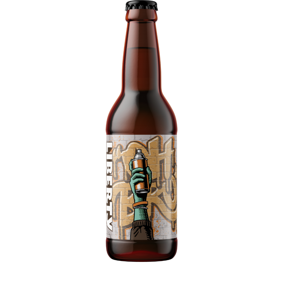 Liberty - Oh Brother Pale Ale - 24 x 330ml Bottles