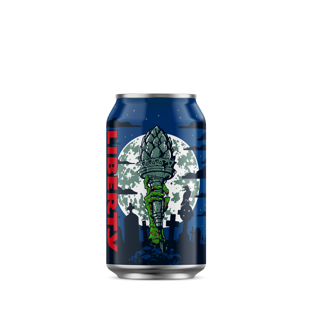 Liberty - Yakima Monster American Pale Ale - 24 x 330ml Cans