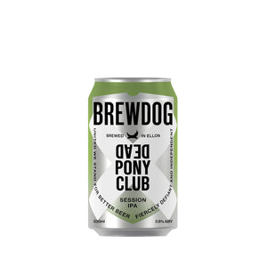 Brewdog - Dead Pony Club West Coast Session Pale Ale - 24 x 330ml Cans
