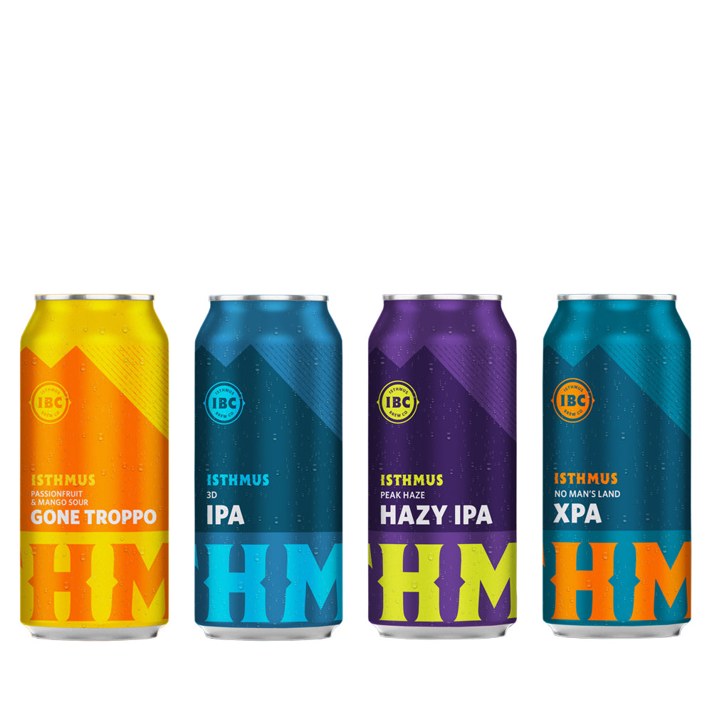 Isthmus Brewing - Mixed Pack - 24 x 440ml Cans