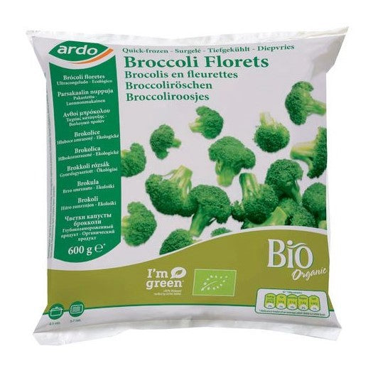 FROZEN BROCCOLI BIO 600GR - DeGusta Grocery Home Delivery