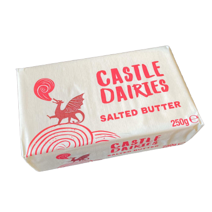 SALTED BUTTER 250GR - DeGusta Grocery Home Delivery