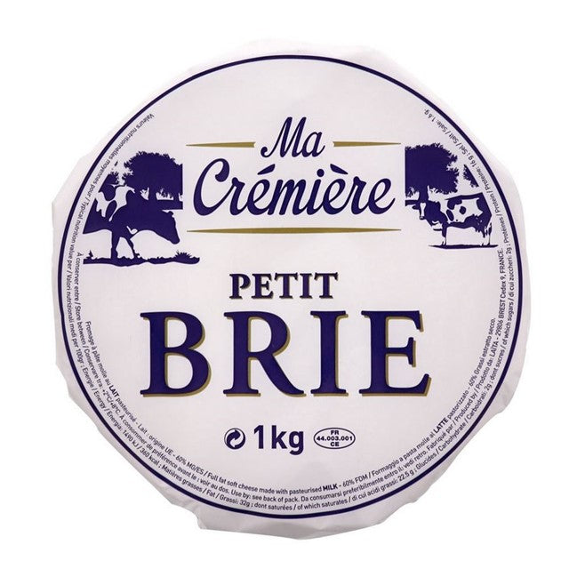 FRENCH BRIE PETIT WHEEL 1KG - DeGusta Grocery Home Delivery