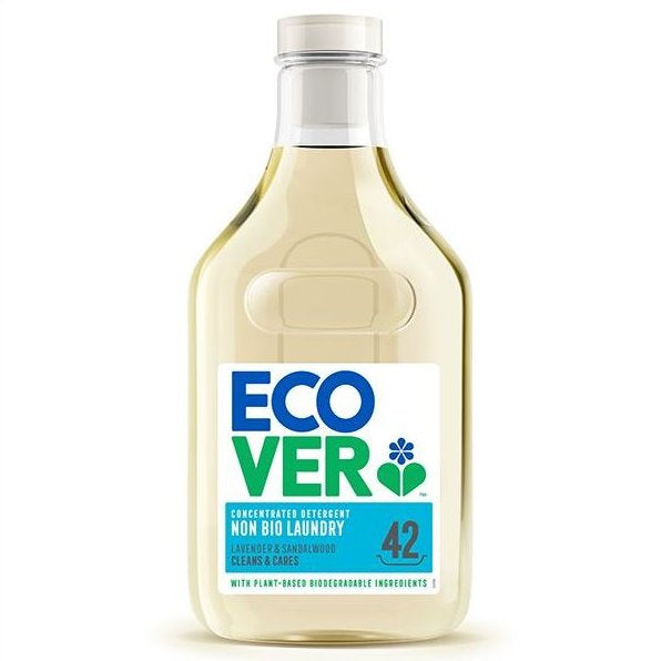 ECOVER CONCENTRATE NON-BIO LAUNDRY LIQUID 1.5L - DeGusta Grocery Home Delivery