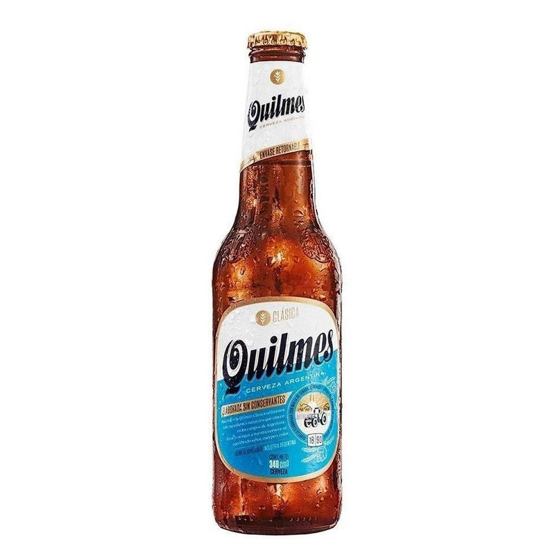 QUILMES BEER (6 UNIT/PACK) 34CL 4.9% - DeGusta Grocery Home Delivery