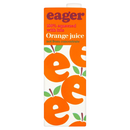 EAGER ORANGE JUICE 1L (not from concentrate)