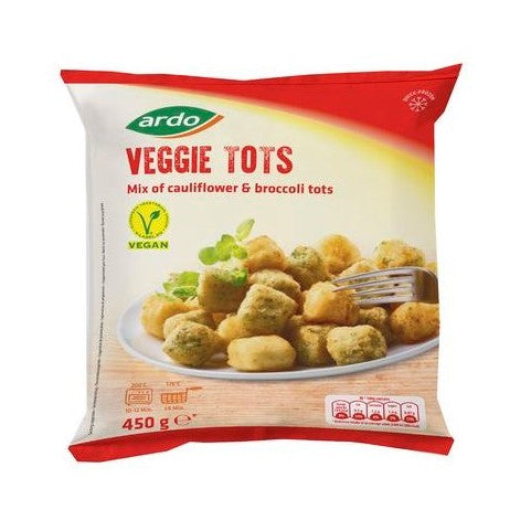 CAULIFLOWER/BROCCOLI TOTS 450GR - DeGusta Grocery Home Delivery