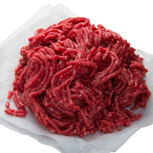 MINCED DRY AGED SHIN & RIB OF HEREFORD BEEF 500GR - DeGusta Grocery Home Delivery